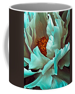 Coffee Mug featuring the photograph Peony Flower by Chris Lord