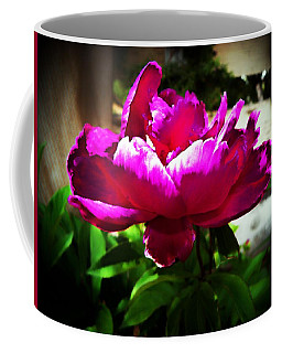 Coffee Mug featuring the photograph Peony by Joseph Frank Baraba