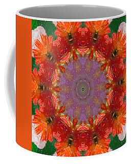 Peony Kaleidoscope 2 Coffee Mug