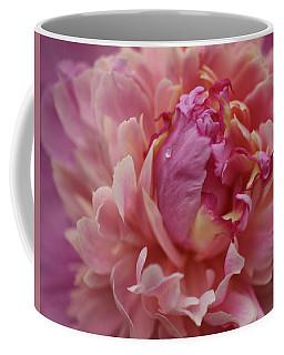Peony Opening Coffee Mug