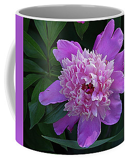 Peony Time Coffee Mug by Karen McKenzie McAdoo