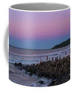 People Watch The Sun Set Coffee Mug
