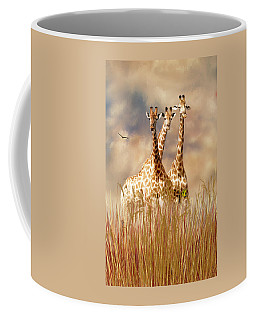 People Watchers Coffee Mug