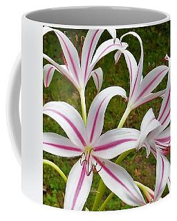 Peppermint Lilies Coffee Mug