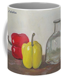 Peppers And Tequila Bottle Coffee Mug
