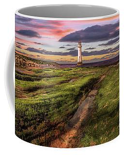 Perch Rock Lighthouse Sunset Coffee Mug