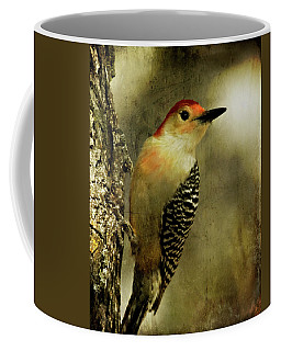 Perched And Ready - Weathered Coffee Mug