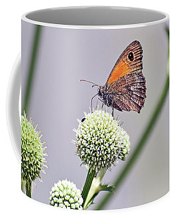 Perched Butterfly No. 255-1 Coffee Mug