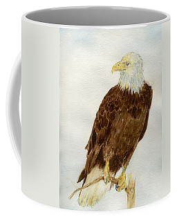 Perched Eagle Coffee Mug