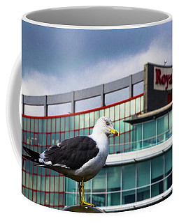 Perched Gull Coffee Mug