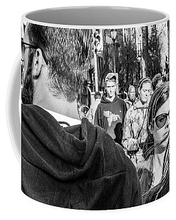 Coffee Mug featuring the photograph Percolate by David Sutton