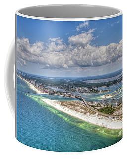 Perdido Pass Aerial 3029 Coffee Mug
