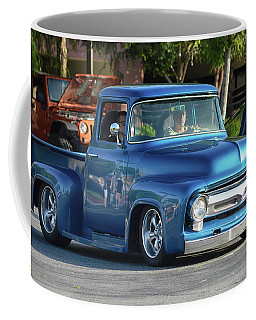 Coffee Mug featuring the photograph Perfect Ford Truck by Bill Dutting