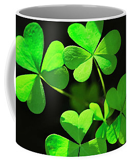 Perfect Green Shamrock Clovers Coffee Mug