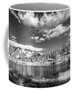 Coffee Mug featuring the photograph Perfect Lake At Mount Baker by Jon Glaser