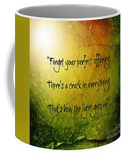 Perfect Offerings Coffee Mug by Leanne Seymour