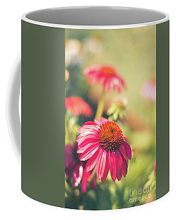 Perfect Purple Conflower Coffee Mug by Cheryl Baxter