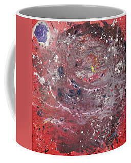 Coffee Mug featuring the painting Perfect Storm by Michael Lucarelli