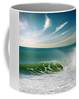 Perfect Wave Coffee Mug by Carlos Caetano