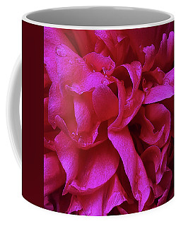 Perfectly Pink Peony Petals Coffee Mug