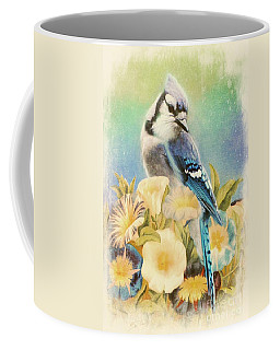 Perfectly Poised Coffee Mug by Tina LeCour