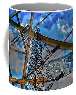 Coffee Mug featuring the photograph Pericolo Di Morte by Sonny Marcyan