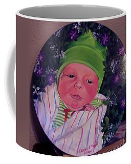 Periwinkle Baby Boy Coffee Mug by Ruanna Sion Shadd a'Dann'l Yoder