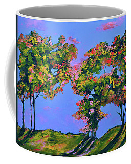 Periwinkle Twilight Coffee Mug by Donna Blackhall