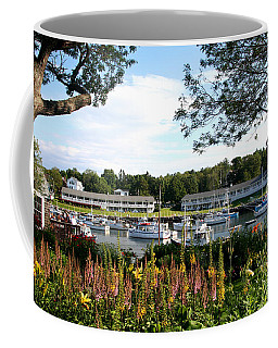 Coffee Mug featuring the photograph Perkins Cove by Adrian LaRoque