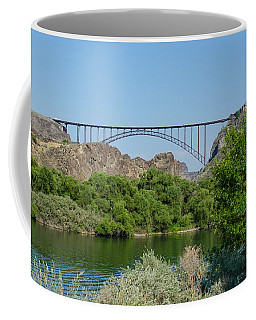 Perrine Bridge At Twin Falls Coffee Mug