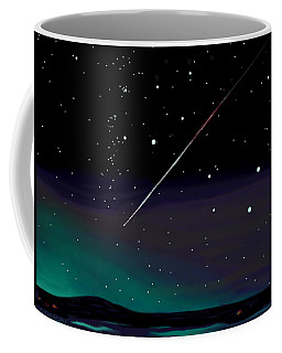 Perseid Meteor Shower  Coffee Mug