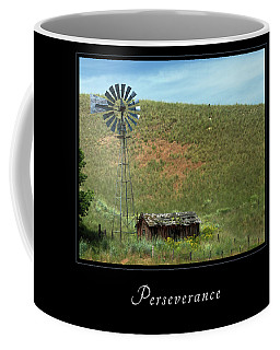 Coffee Mug featuring the photograph Perserverance 2 by Mary Jo Allen