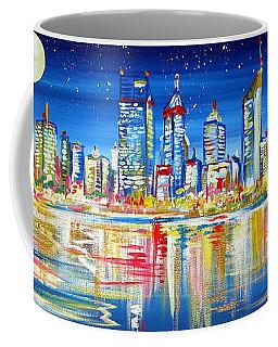 Perth Under The Full Moon Coffee Mug