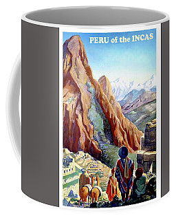 Peru, Mountains, Incas, Landscape Coffee Mug