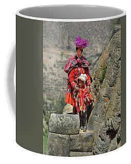 Peruvian Mother And Child Coffee Mug