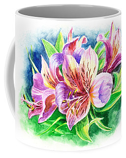 Peruvian Princess Lily Coffee Mug