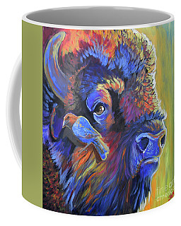 Pesky Cowbird Coffee Mug by Jenn Cunningham