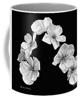 Petal Cascade Custom Coffee Mug by Diane E Berry