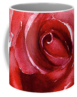 Coffee Mug featuring the painting Petals by Allison Ashton