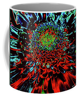 Petals Of Fire And Ice Coffee Mug