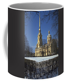 Peter And Paul Cathedral Coffee Mug
