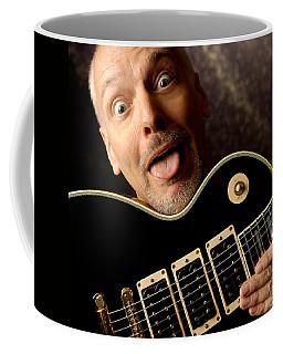 Peter Frampton By Gene Martin Coffee Mug