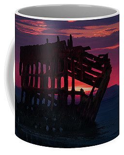 Peter Iredale Shipwreck Coffee Mug