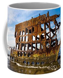 Peter Iredale Shipwreck - Oregon Coast Coffee Mug