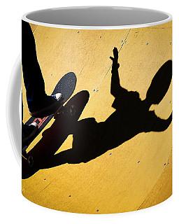 Peter Pan Skate Boarding Coffee Mug