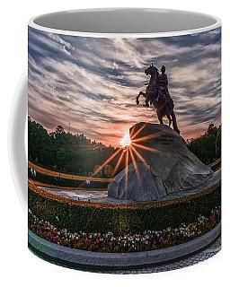 Peter Rides At Dawn Coffee Mug