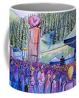 Peter Rowen At Copper Mountain Coffee Mug