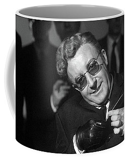 Peter Sellers As Dr. Strangelove Number One Color Added 2016 Coffee Mug