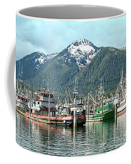 Petersburg Alaska Harbor Coffee Mug