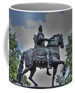 Coffee Mug featuring the pyrography  Petr by Yury Bashkin